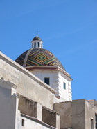 A picture of a traditional Alghero church