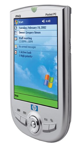 A picture of the iPAQ Pocket PC h1910
