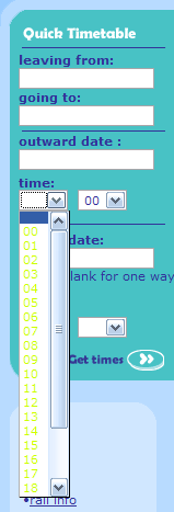 Qjump User Interface