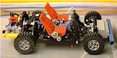 A picture of the LEGO Technic 8860 Car Chassis set