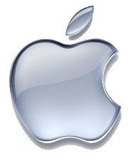A picture of the Apple logo