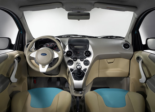A picture of the new Ford Ka's interior