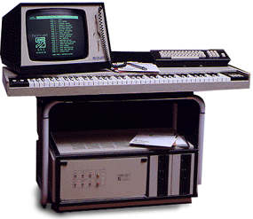 A picture of the Fairlight CMI Series II