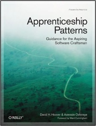A picture of the cover of the Apprenticeship Patterns book