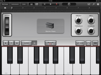 GarageBand's electric piano