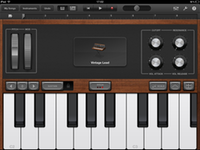 GarageBand's vintage lead synth
